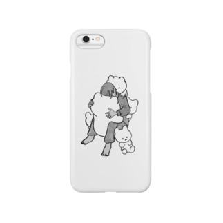 ハグハグ Smartphone cases