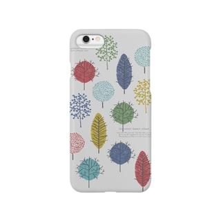 いろんな樹(ライト) Smartphone cases