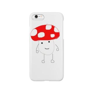 きのこ Smartphone cases