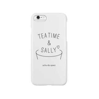 TEA TIME& SALLY スマートフォンケース