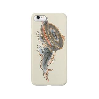 百鬼夜行絵巻 鉦鼓の付喪神【絵巻物・妖怪・かわいい】 Smartphone cases