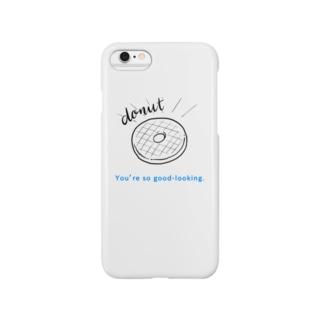 memmemeのグッドなドーナッツ Smartphone cases