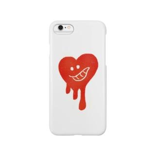 nachaのハート Smartphone cases