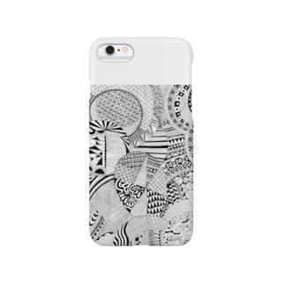 ぜんたんぐる Smartphone cases