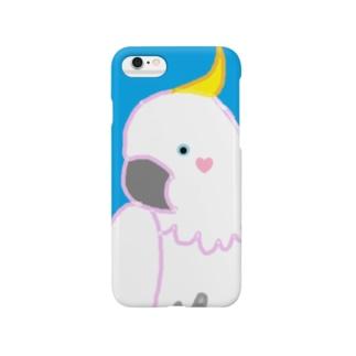 キバタン@ピース! Smartphone cases
