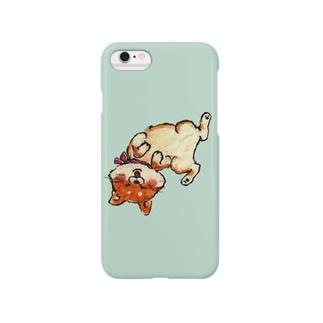 happy shibaちゃん☆若草 Smartphone cases