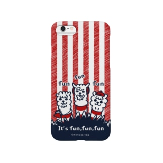It'funfunfun【3】iPhone 6s/6用 Smartphone cases