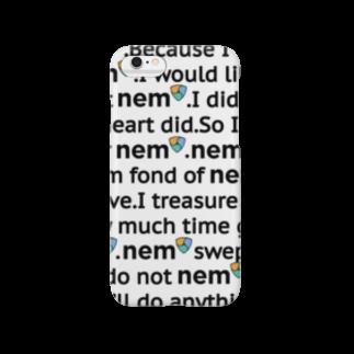 なぞQのネム(NEM)/ XEMグッズvol.9スマートフォンケース