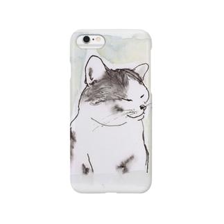 家の猫 Smartphone cases