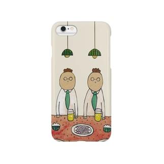 すいか食堂 夜の7時 Smartphone cases