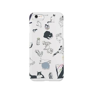 猫詰め合わせ Smartphone cases