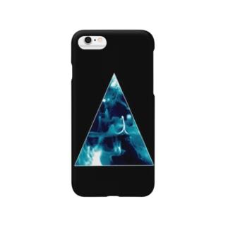 triangle(BL) Smartphone cases