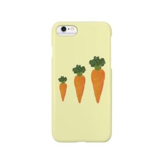 にんじんふぉん。 Smartphone cases