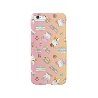 ムル&メリィ 柄 3 Smartphone cases