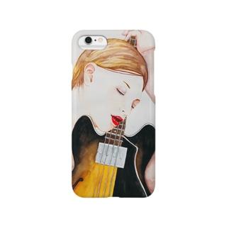 Bass Girl  Smartphone cases