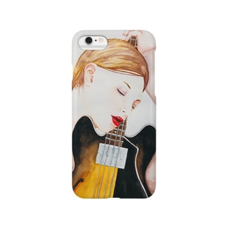 Bass Girl  Smartphone cases