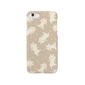 *momochy shop*のおはな柄(ももいろ) Smartphone cases