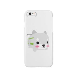 柴とれ(黄緑) Smartphone cases