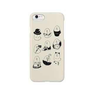集合!もづくの化身 Smartphone cases