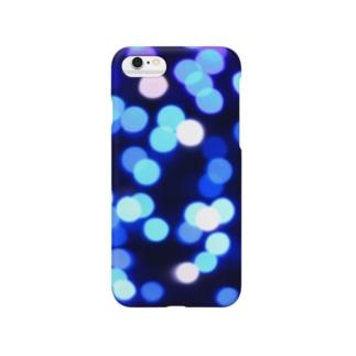 クリスタルブルー Smartphone cases