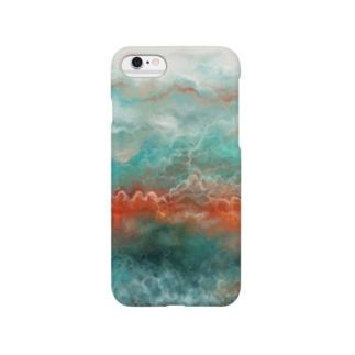 iPhone cover featuring SHIMA スマートフォンケース