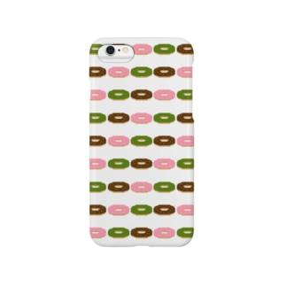 ドーナツ3種類盛り Smartphone cases