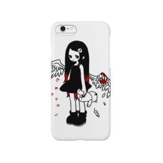 負傷天使ちゃん Smartphone cases