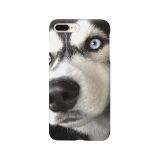 僕はハスキー Smartphone cases