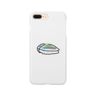 すしの鯵。 Smartphone cases