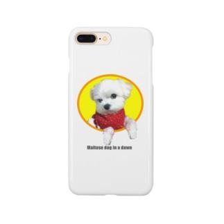 夜明けのマルチーズ2 Smartphone cases