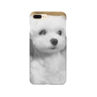 夜明けのマルチーズ9 Smartphone cases
