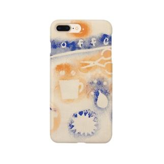 スタンプポンポン Smartphone cases