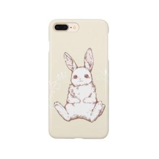 もふまるうさぎ Smartphone cases
