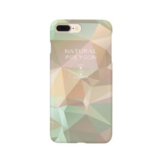 自然のポリゴン Smartphone cases