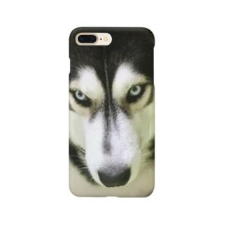 THE ハスキー Smartphone cases