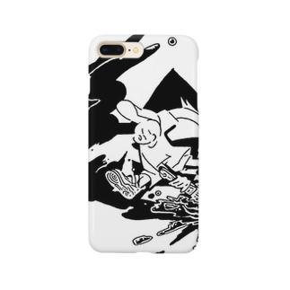 あけたらしろめ「絵」 Smartphone cases