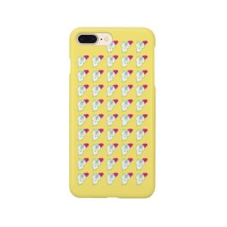ハーンがいっぱいケース 7plus きいろ Smartphone cases