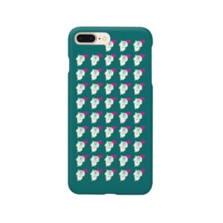 ハーンがいっぱいケース 7plus みどり Smartphone cases