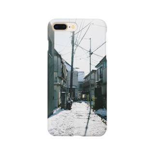 雪の日 Smartphone cases
