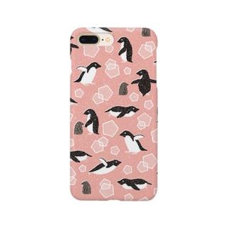 ペンギン(赤) Smartphone cases