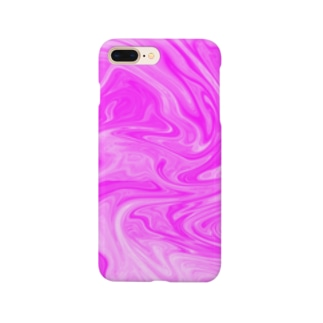 Pink Swirl Smartphone cases