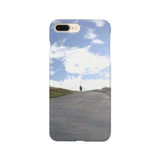 天空へと続く道 Smartphone cases