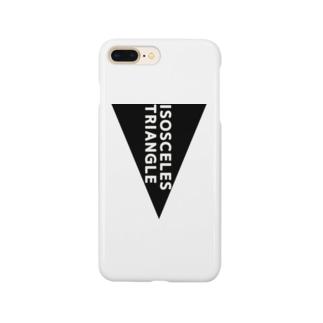 二等辺三角形 Smartphone cases