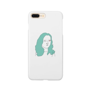 しろめ女子 #05 Smartphone cases