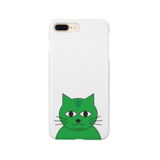 みどりねこ Smartphone cases