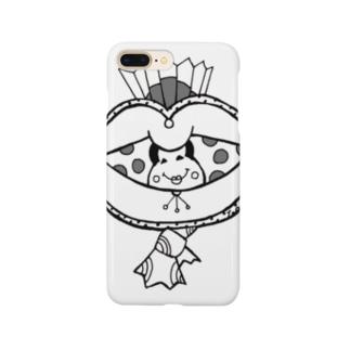 水玉オカメ Smartphone cases