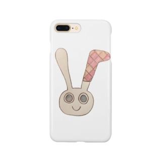 くつしたうさ Smartphone cases
