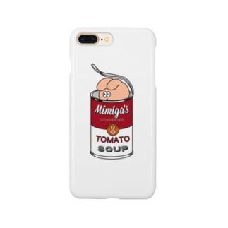 ミミ缶 Smartphone cases
