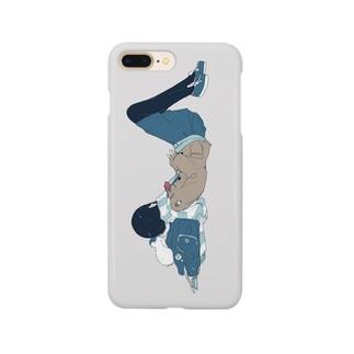 スイミン Smartphone cases