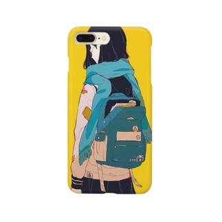 背中で語る Smartphone cases